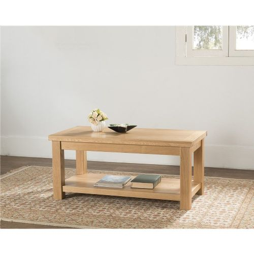 Valencia Large Coffee table with shelf